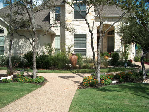 Residential Landscaping on Lake Travis